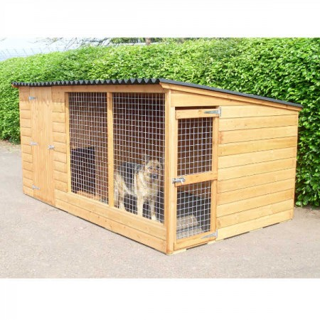 dog kennel & run for sale