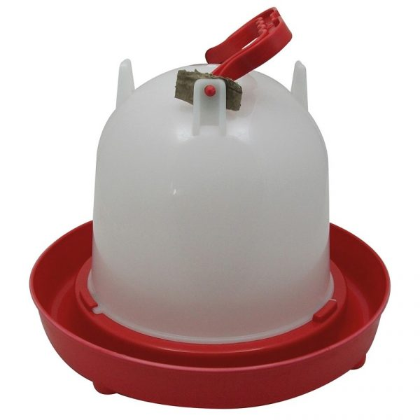 Chicken drinker, holds upto 6 litres.