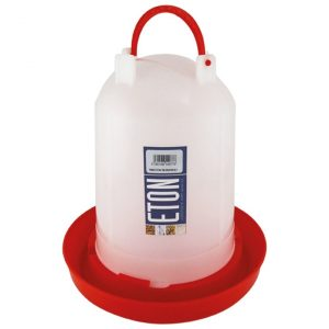 poultry drinker, holds 6 litres