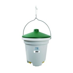 nipple drinker for chickens, holds 12 litres